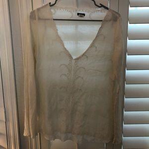Linen jcrew cover up
